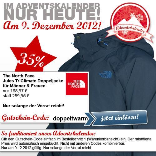 The North Face - Jules TriClimate Doppeljacke 168 € statt 259 € Frau & Mann