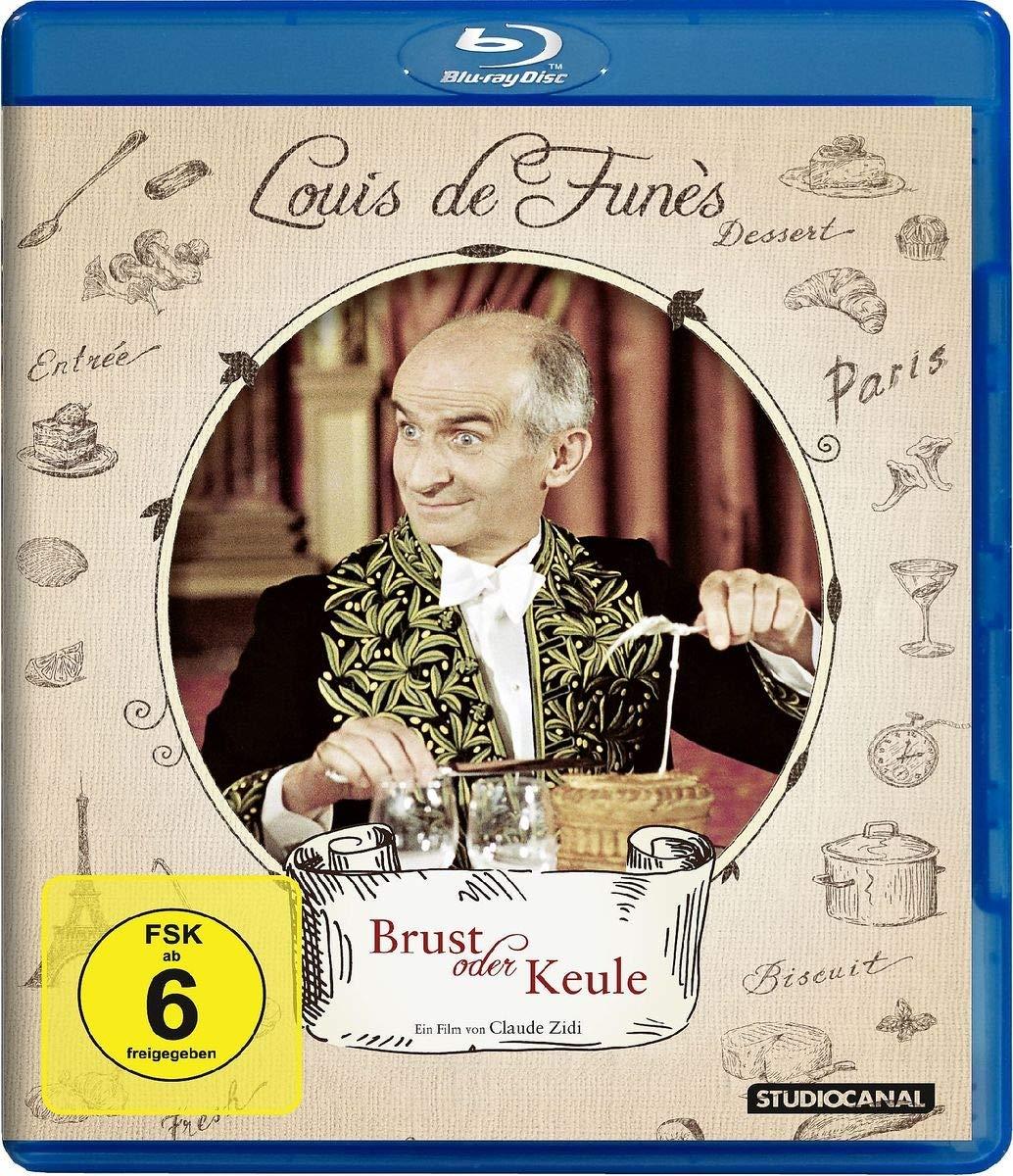 Brust oder Keule & Louis und seine außerirdischen Kohlköpfe - Louis de Funes (Blu-ray) für je 5,87€ (Saturn)