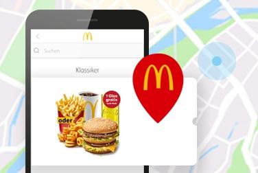neue McDonalds App Coupon