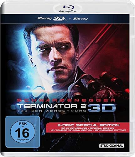 Terminator 2 Tag der Abrechnung 3D (2-Disc Special Edition Blu-ray 3D+Blu-ray) für 9,97€ & (4K Ultra HD + Blu-ray) für 14,97€ (Amazon Prime)