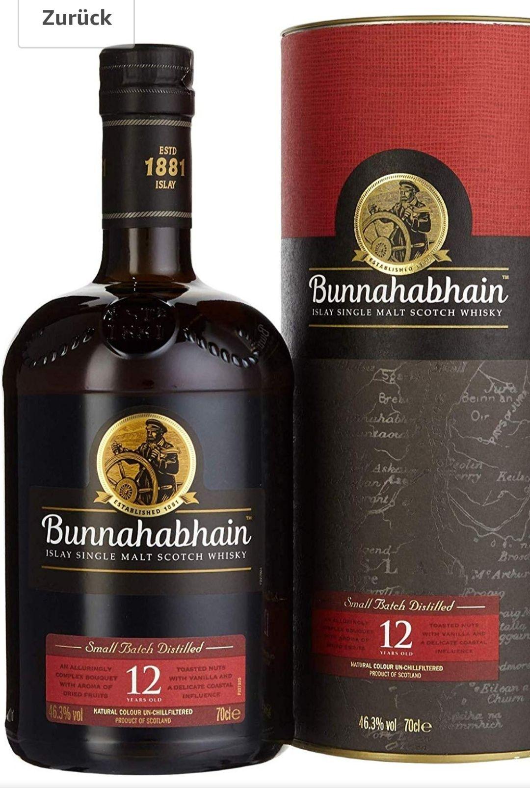 "Whisky Bunnahabhain 12 für 31,29€ Amazon Prime ""befristetes Angebot"""
