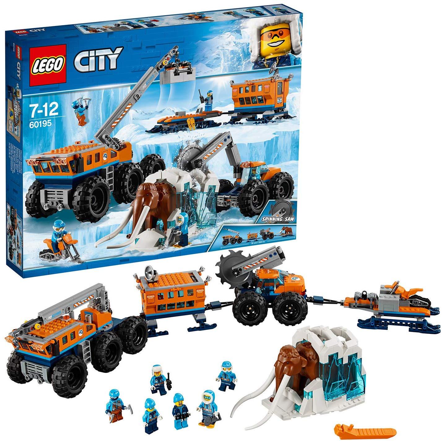 LEGO City 60195 Mobile Arktis-Forschungsstation [Amazon UK]