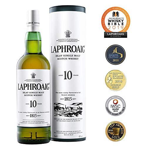 Laphroaig 10 Jahre Islay Single Malt Scotch Whisky 10 Jahre
