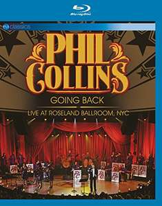 (Amazon) Phil Collins Blu-Ray  Going Back: Live At Roseland Ballroom