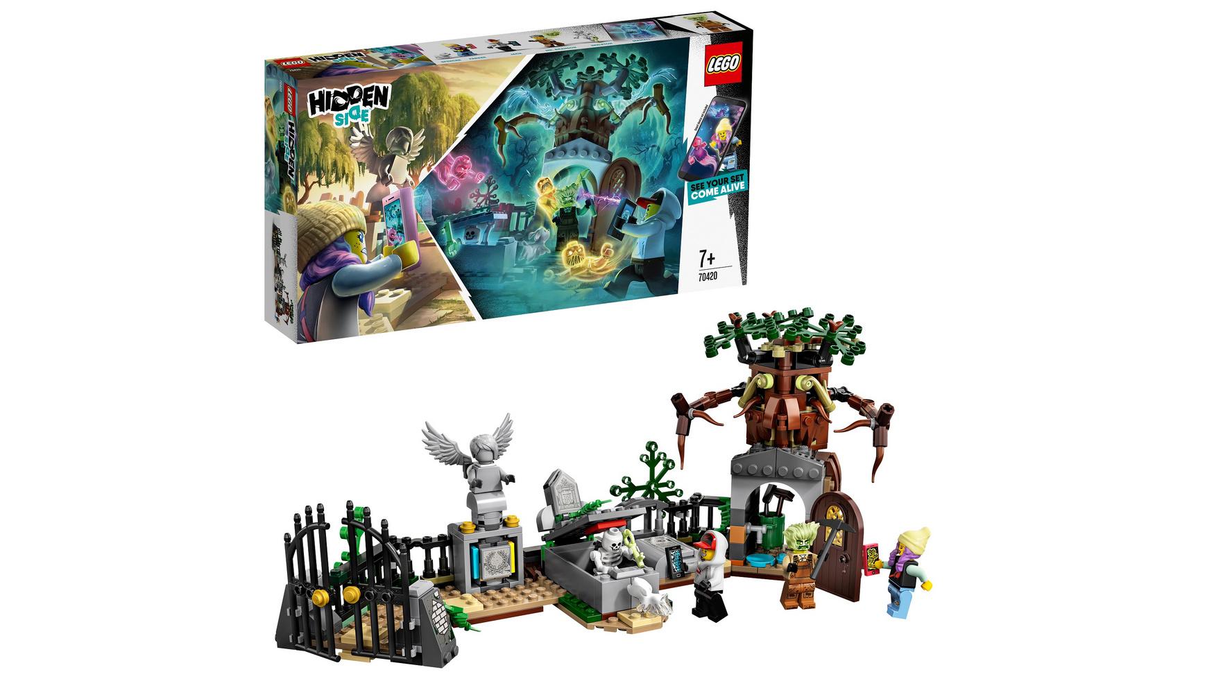 LEGO Hidden Side - 70420 Geheimnisvoller Friedhof 19,99 euro