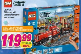 Lego City Güterzug bei marktkauf bayern für 96€!