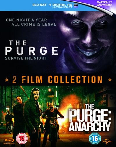 The Purge + The Purge: Anarchy (2x Blu-ray) für 6,13€ inkl. Versand (Zoom UK)