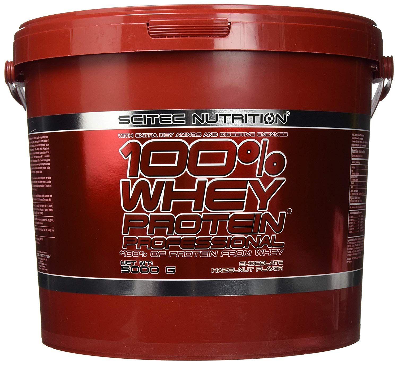[Prime] Scitec Nutrition Protein 100% Whey Protein Professional, Schokolade, 5000g