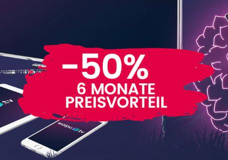 waipu.tv Perfect 6 Monate für je 5€ - jetzt mit Restart-Funktion - laufende Sendung einfach von Vorne starten