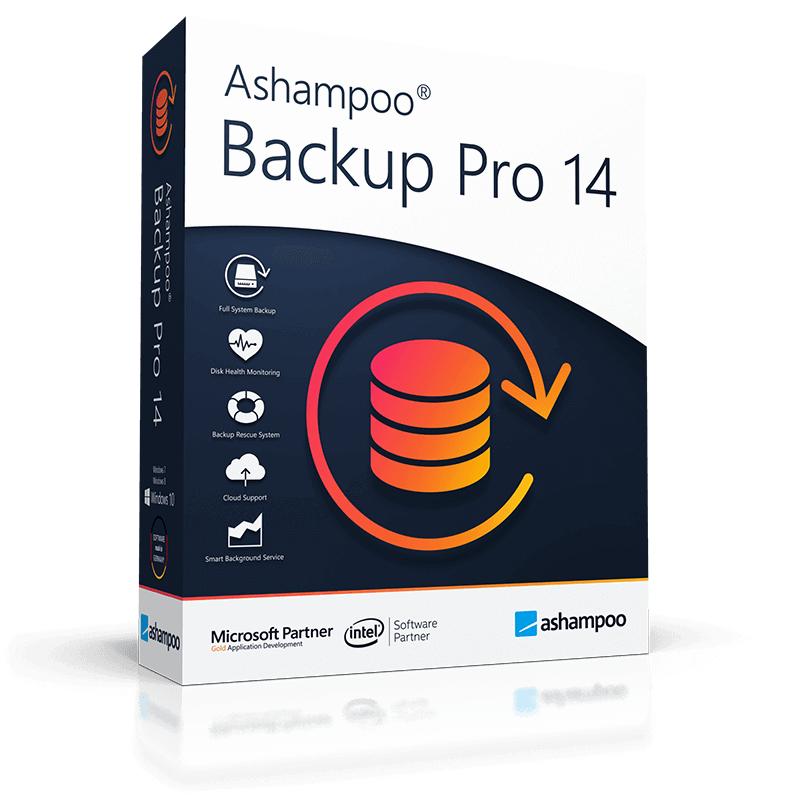 Ashampoo Backup Pro 14 als Upgrade von der kostenlosen 2020-Version