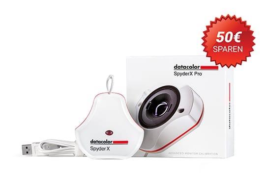 Datacolor SpyderX Pro Monitorkalibrierung