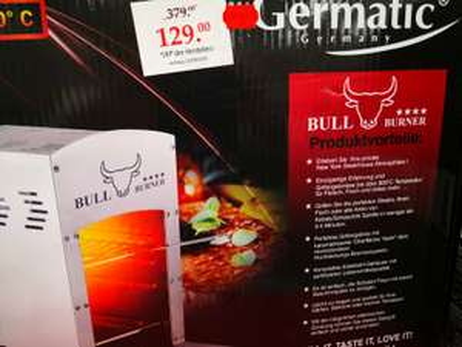 Bull Burner Gasgrill - Woolworth 40764 Langenfeld [Lokal]