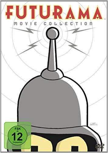 Futurama Movie Collection (4 DVDs) für 9,97€ (Amazon Prime)
