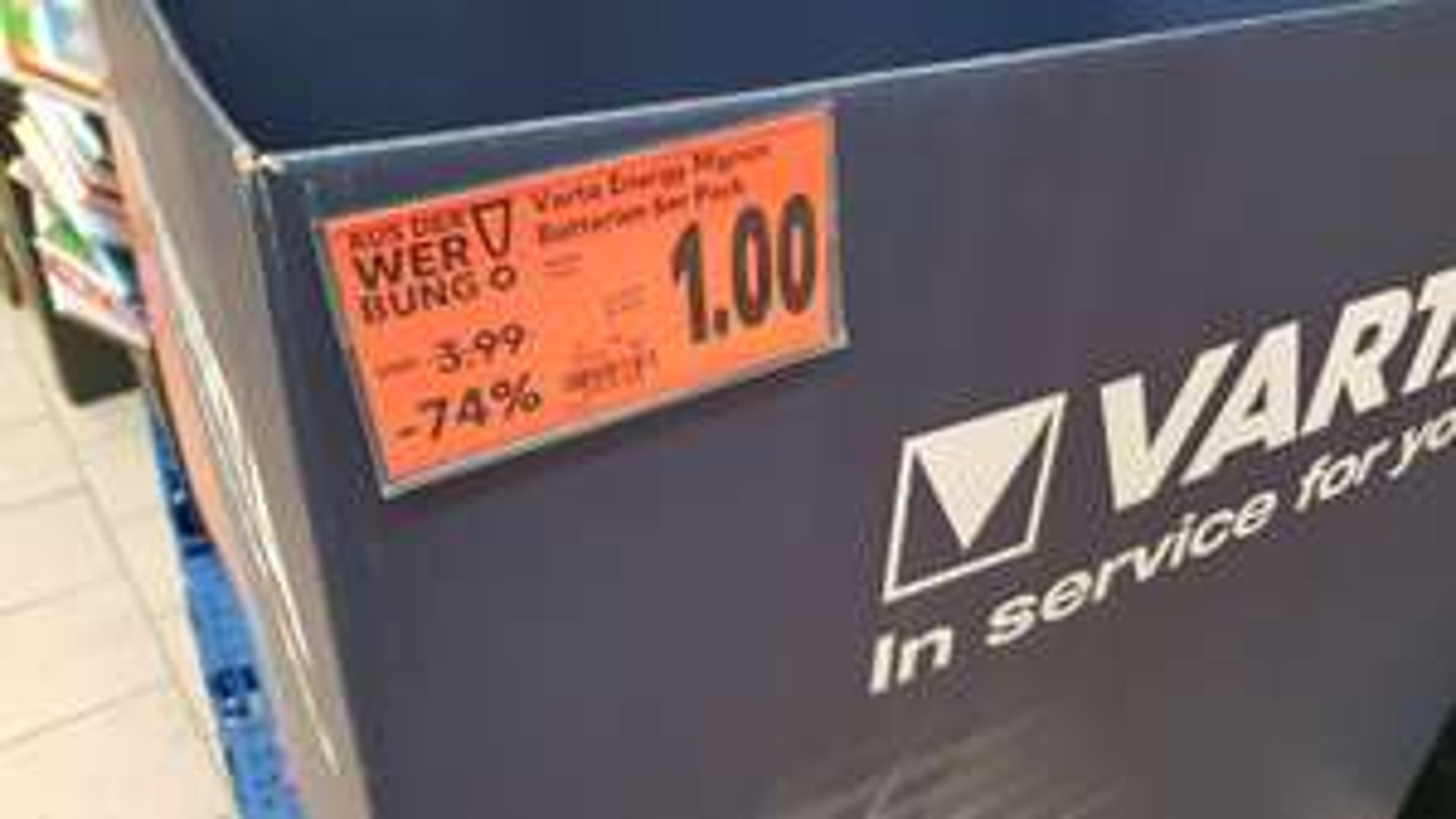 Varta Energy Mignon Batterien 6er Pack - Kaufland Hannover [Lokal]