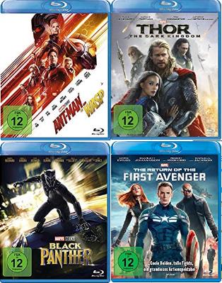 Amazon 3 Marvel Filme zum Preis von 2