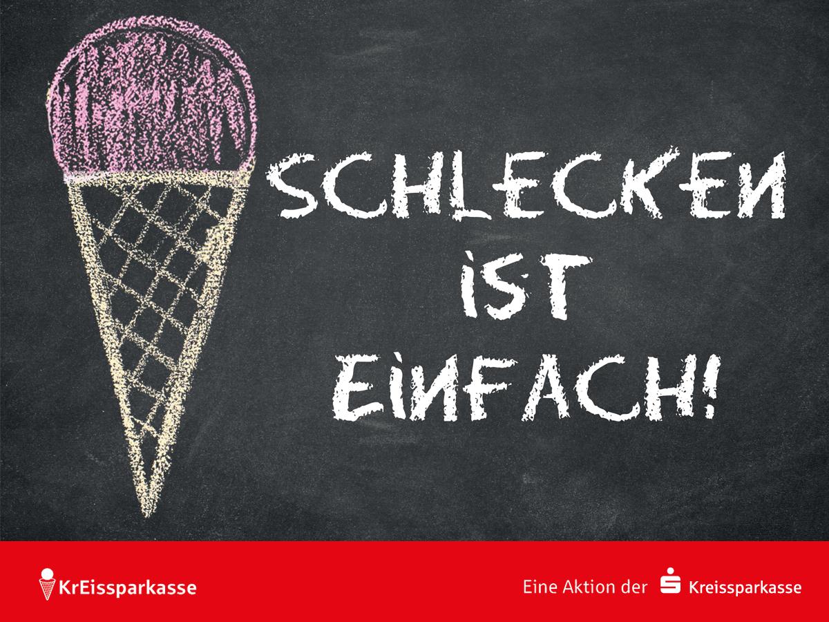 Gratis Eis bei der KrEISsparkasse München Starnberg Ebersberg [Lokal]