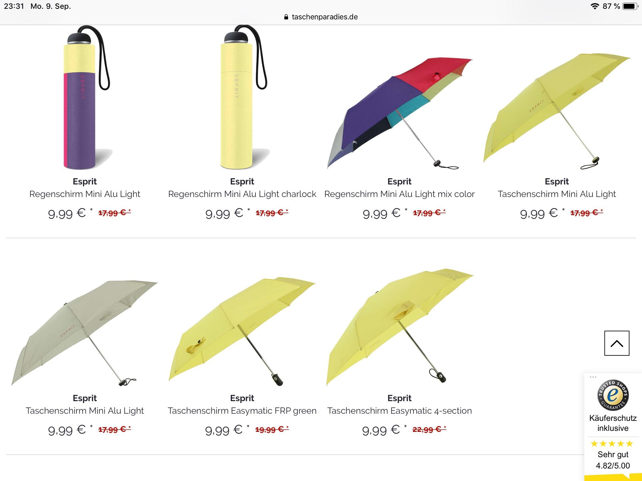 Esprit Mini-Regenschirme