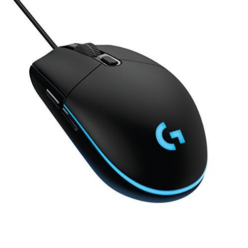 Logitech G203 kabelgebundene Gaming Maus (Optische 8.000 dpi, mit 16,8 Mio-Farb-LED-Anpassung) [Amazon Prime]