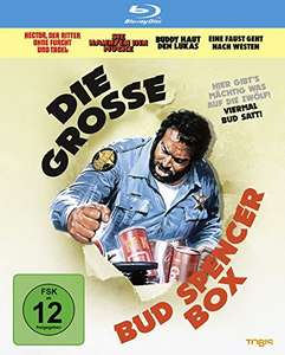 Die grosse Bud Spencer-Box (Blu-ray) für 14,97€ (Amazon Prime)