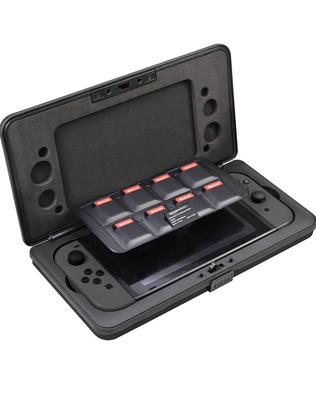 AmazonBasics - Hartschalenetui für Nintendo Switch  (Schwarz) für 10,47€ ( Amazon Prime)