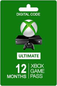 12 Monate Xbox Ultimate Gold + Game Pass + Game Pass für PC
