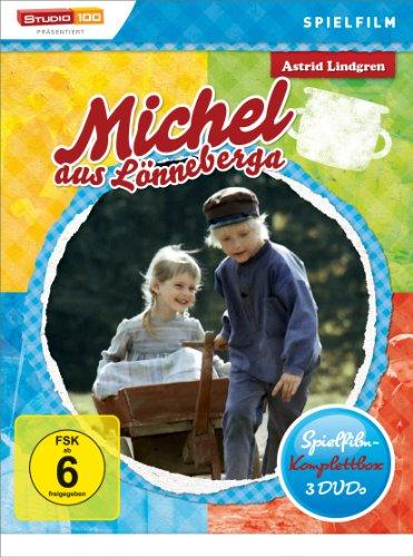 Astrid Lindgren: Michel aus Lönneberga Spielfilm-Komplettbox (3 Discs DVD) für 9,97€ (Amazon Prime)