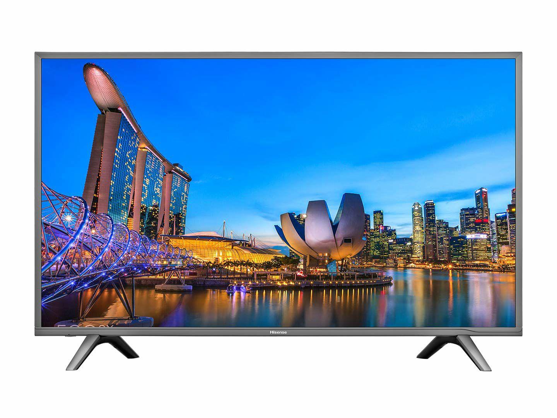 "Hisense H55NEC5605 (55"" Ultra HD, 50 Hz VA-Panel, HDR, Triple Tuner, Smart TV, WLAN, 3x HDMI, 2x USB, CI+)"