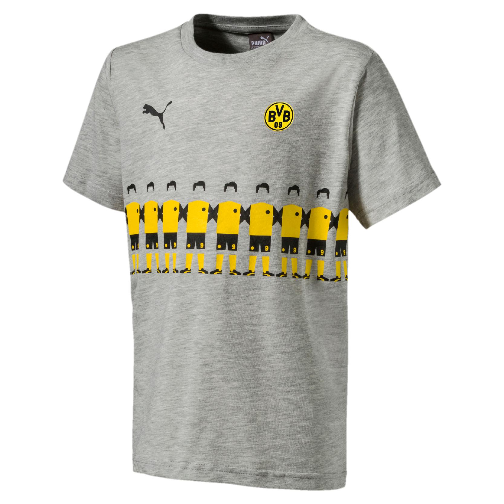 Puma BVB Borussia Dortmund - Kinder Fan Tee T-Shirt @sport1-a.de