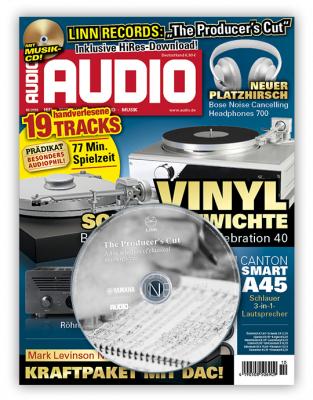 AUDIO Jahresabo + BOWERS & WILKINS P3 Series 2 Kopfhörer mit dazu für 72,00 Euro.