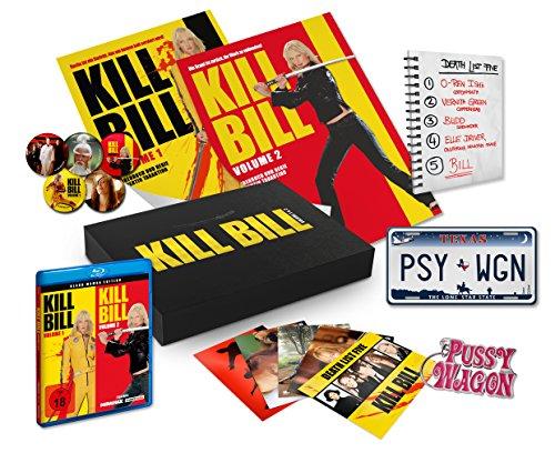 Kill Bill: Volume 1 & 2 Black Mamba Edition Ultimate Fan Collection (Blu-ray) für 25€ (Media Markt & Amazon)