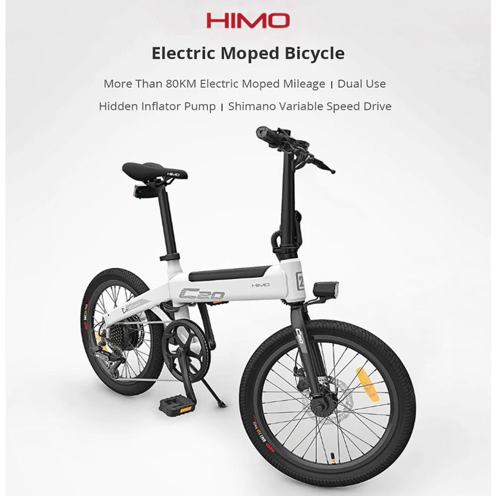 HIMO C20 Elektromoped Fahrrad 25km/h (Versand Polen)