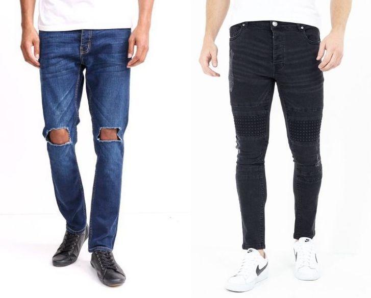 Brave Soul Skinny Jeans in 9 verschiedenen Designs