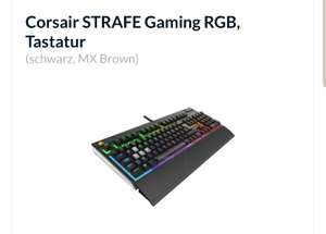 Corsair Strafe RGB MX Brown
