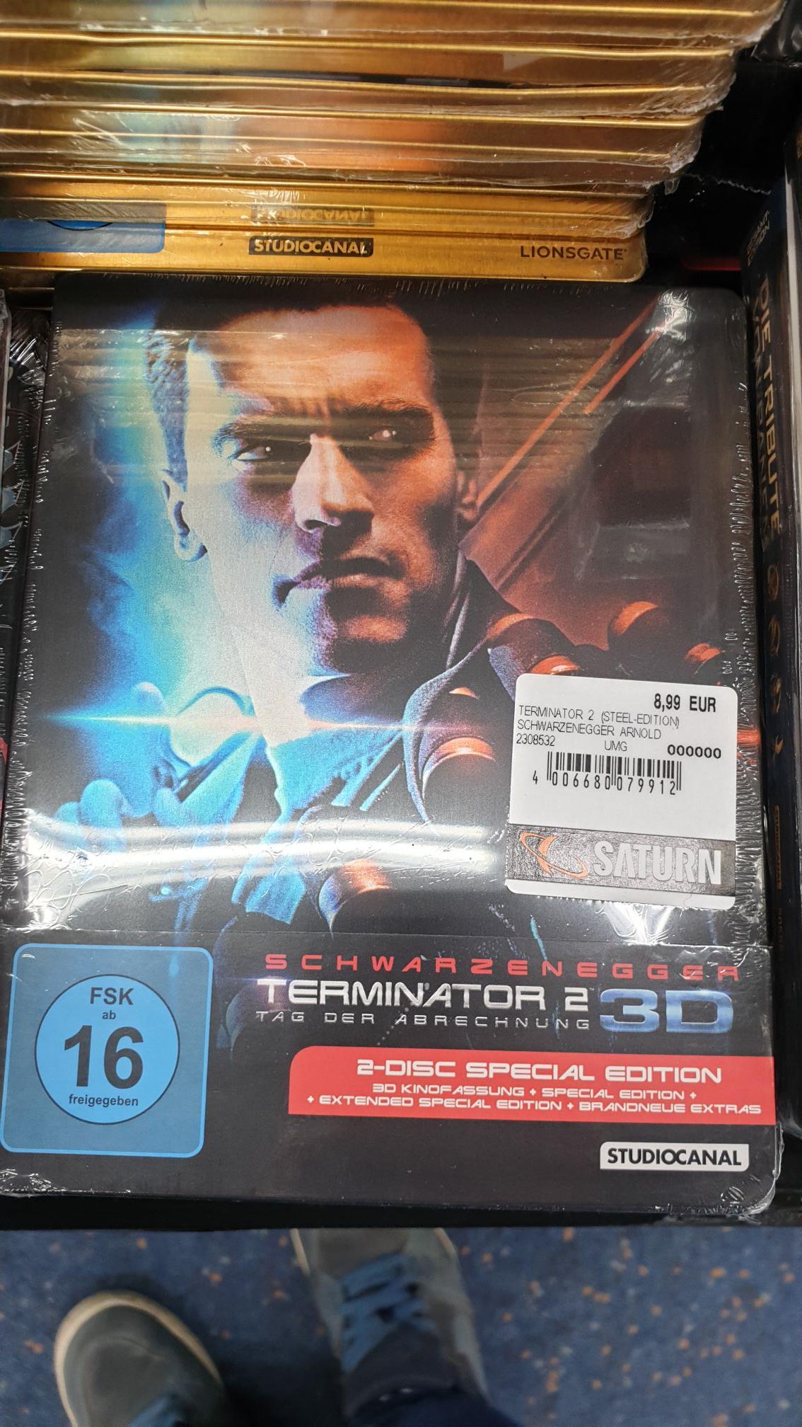 Terminator 2 3D - Saturn in Essen /Limbeckerplatz [Lokal]