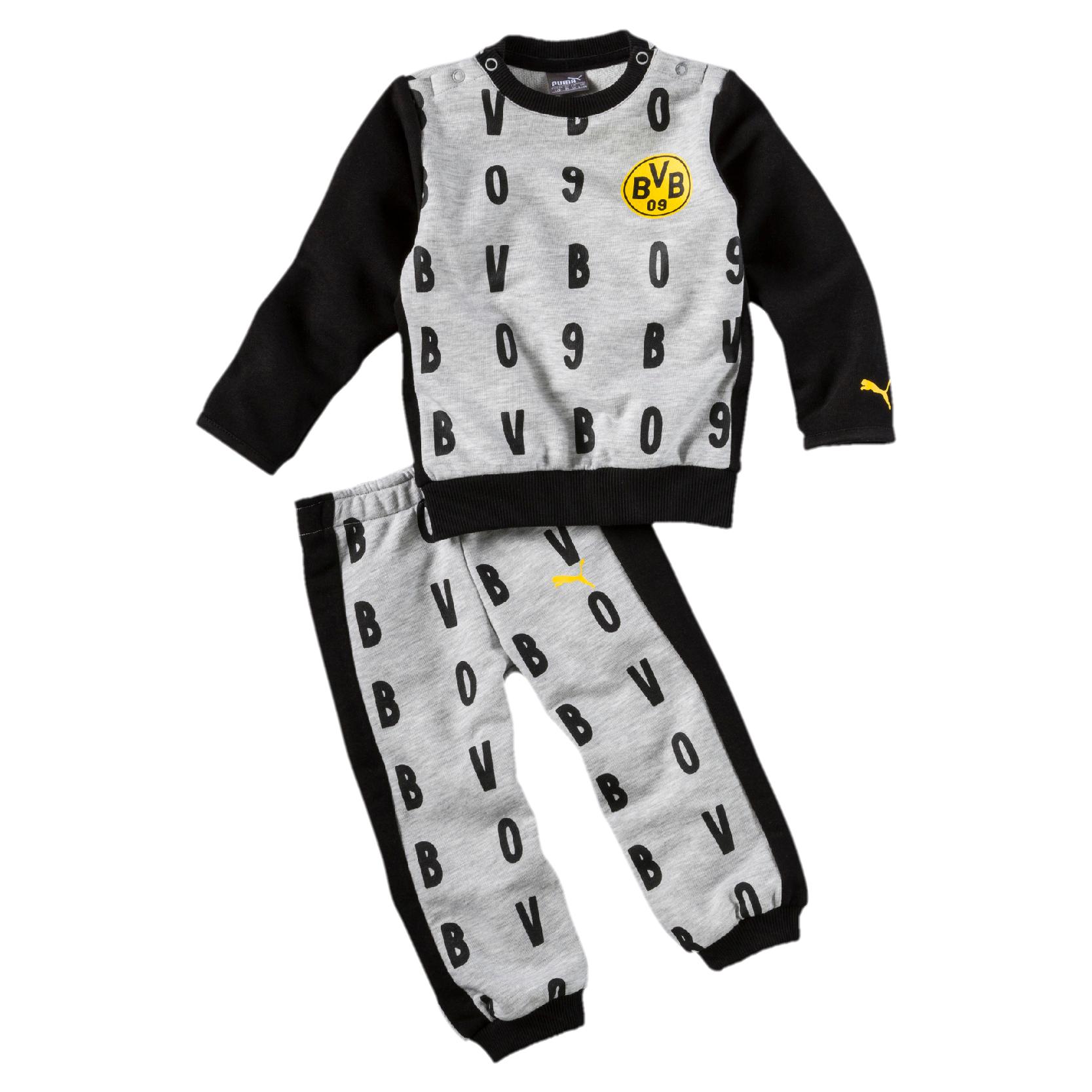Puma BVB Borussia Dortmund - Minicats Kinder Jogger Jogginanzug in Größe 56 bis 102