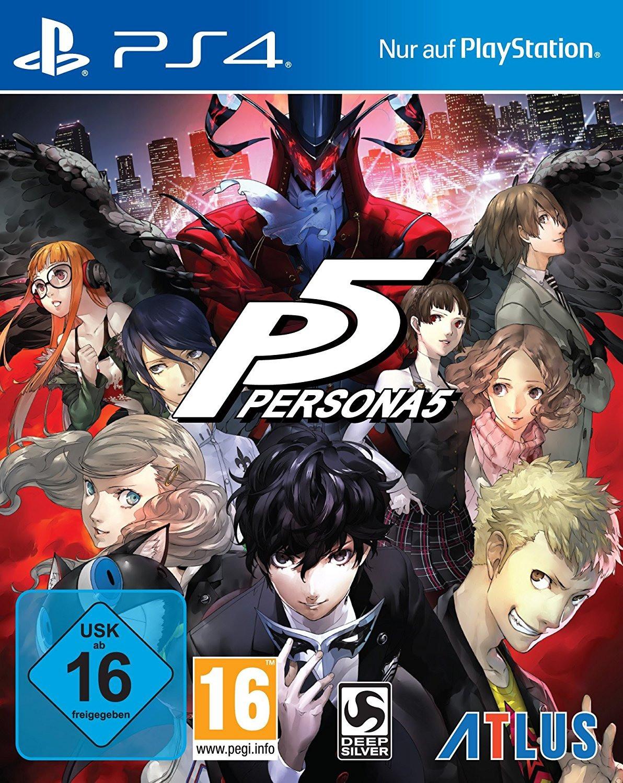 Persona 5 (PS4) für 18€ (Media Markt)