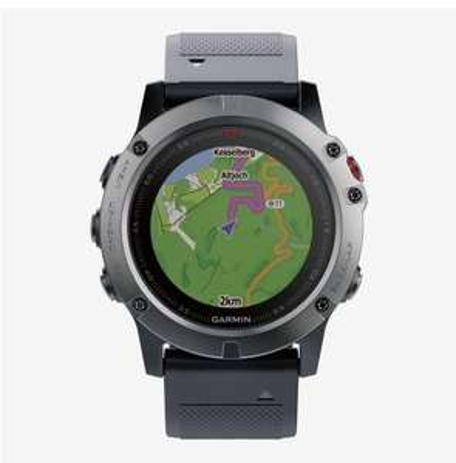Garmin fenix® 5X Sapphire Smartwatch, Grau
