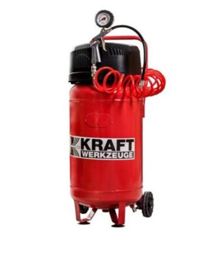 Kraft Kompressor 1500Watt, 10bar, 50l Tank, 240l/min