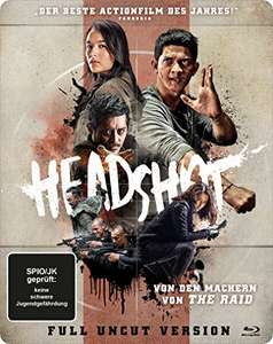Headshot Limited Steelbook Edition (Blu-ray) für 9,97€ (Amazon)