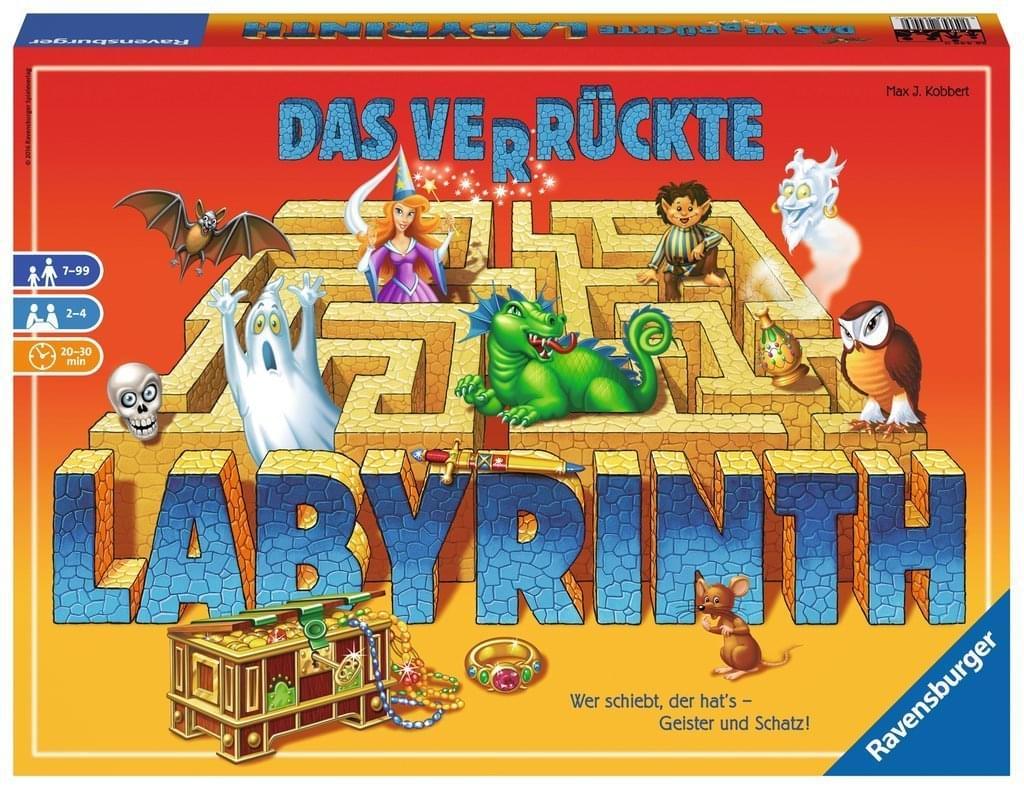 [Real] + [AMAZON] Das verrückte Labyrinth Brettspiel
