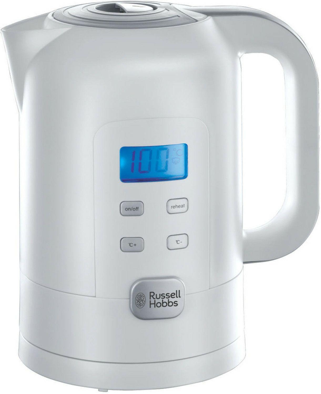 Russell Hobbs Wasserkocher Precision 1,7l, 2200W, Temperatureinstellung 25°-100°, LCD, Warmhaltefunktion, ideal für Babynahrung [Prime]