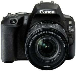 Canon EOS 200D Kit 18-55 mm IS STM schwarz