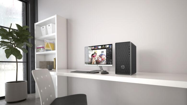 HP Pavilion Desktop 590-p0533ng Ryzen 3 2200G, 8GB RAM, 256GB SSD, AMD Vega 8