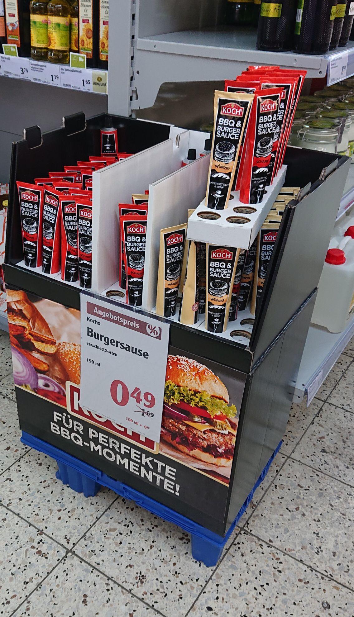 Lokal Globus Erfurt Kochs BBQ & Burger Sauce