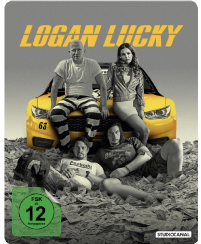 Logan Lucky (Steelbook). [Blu-ray]