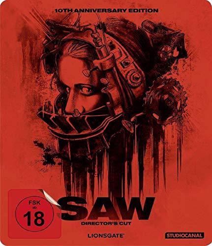 Saw - US Director's Cut Limited Edition 10th Anniversary Steelbook (Blu-ray) für 7,99€ (Amazon & Saturn & Media Markt)