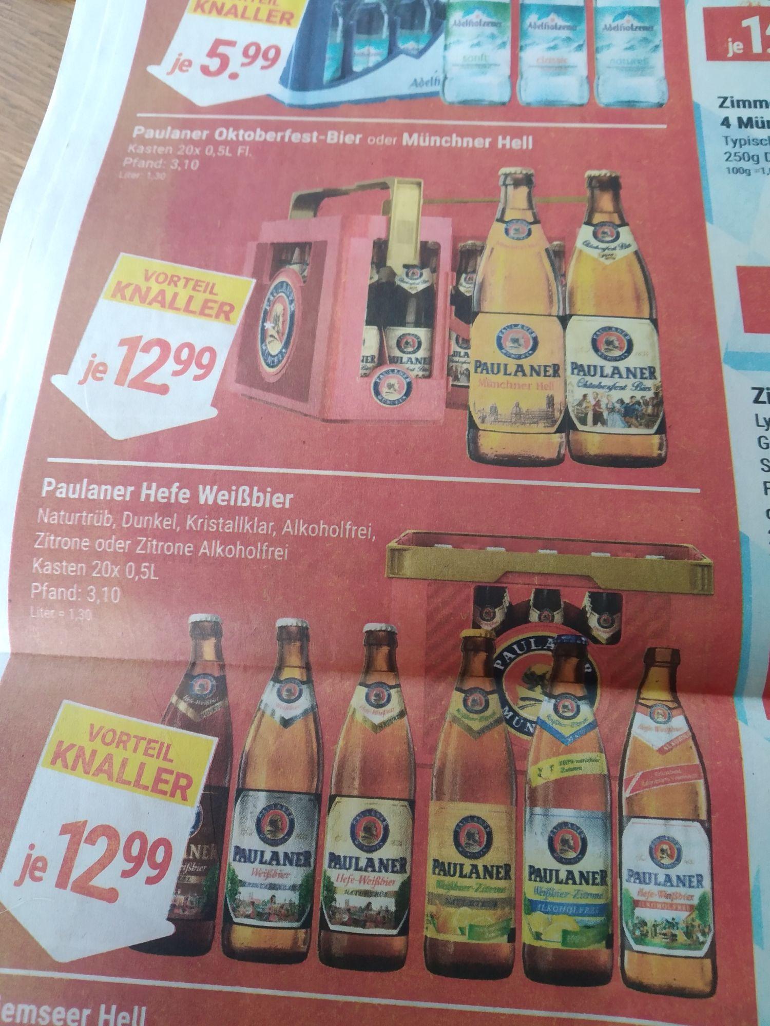 Paulaner Oktoberfest Bier, Hell - Vorteil Center Asbach, Unkel und Aegidienberg [Lokal]