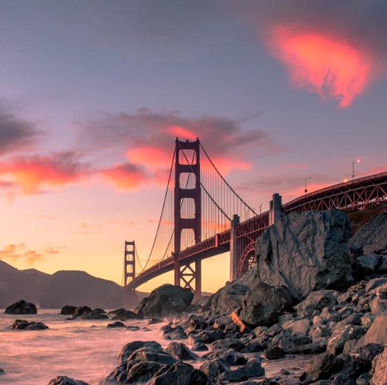 Flüge: Kalifornien / USA (Nov-Mai) Hin- und Rückflug von Hamburg, Frankfurt, Berlin (...) nach San Francisco, L.A., Long Beach (...) ab 224€