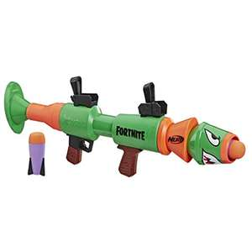 Nerf Fortnite RL-Blaster, Rusty Rocket, Spielzeugblaster mit Schaumstoffraketen