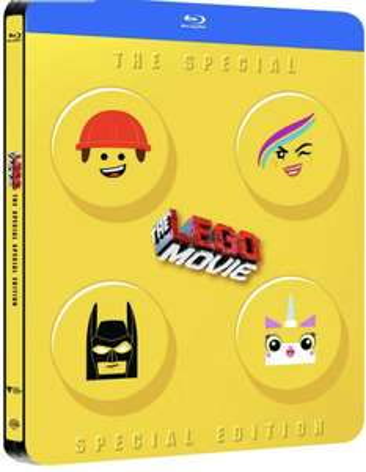 [Amazon.fr] Lego Movie Steelbook 2D mit deutscher Tonspur!( Blu-Ray )